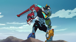 70. Voltron standing after attack