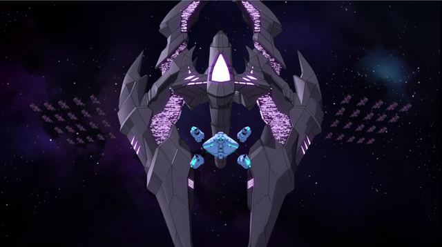 File:S2E04.343. Zarkon's ship zooms in from nowhere.png