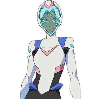 Allura's suit and helmet.