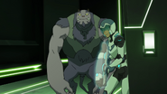 S2E10.155a. Lance with gun materializing 2