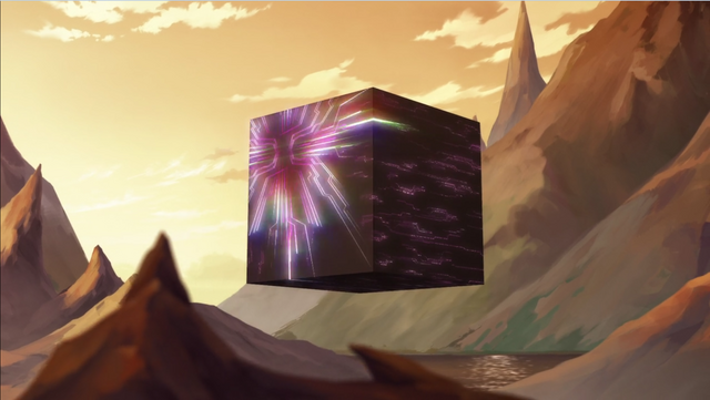 File:S2E04.262. Olkari Cube preparing to fire rainbows.png