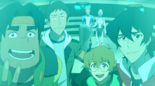 Pidge, Lance, Keith, Hunk, Allura and Coran (Shiro's Escape)