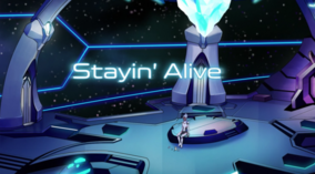 Voltron S2 Title Stayin Alive