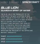 Official Stats - Blue Lion