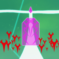 Galra Sentries guarding an energy door.