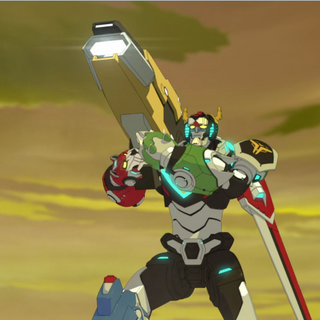 Voltron's shoulder cannon.