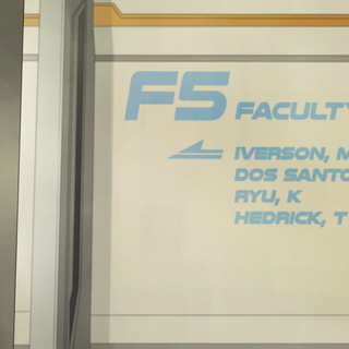List of faculty names.