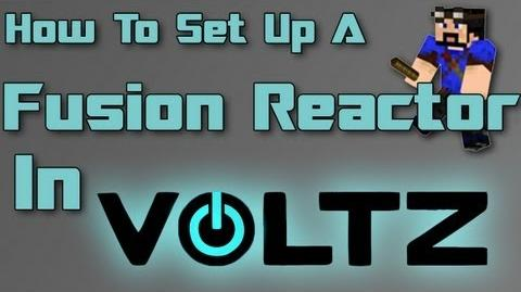 Minecraft Voltz How to setup a Fusion Reactor