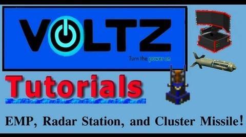 Radar, Emp, and Cluster Missiles (ICBM) Voltz Tuto-0