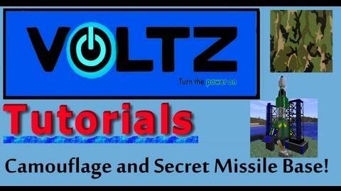 Camouflage and Secret Missile Base (ICBM) Voltz Tutorial