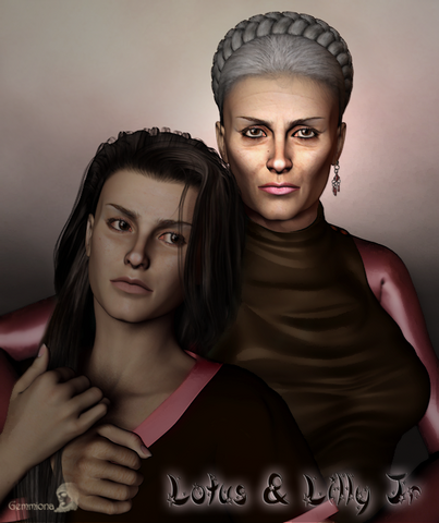 File:Lotus and lilly jr by gemmiona-d33ptae.png