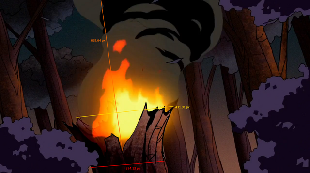 File:Episode 1 - Vilgax's Small Drone destroys a tree.png
