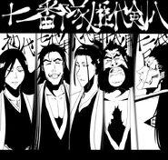 All five kenpachi's