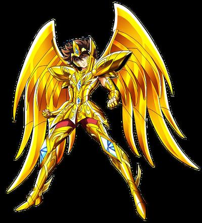 Saint seiya omega render sagittarius seiya v2