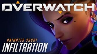 """Overwatch Animated Short """"Infiltration"""""""
