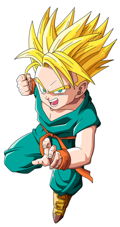 Kid trunks ssj by emiyansaiyan-d32hx29