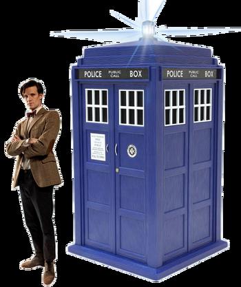 DoctorWhoAndTardisRender