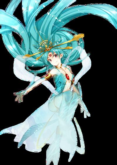 Kougyoku mermaid render by thewhitedevil66-d5umx79