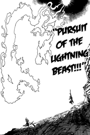 Pursuit of the Lightning Beast