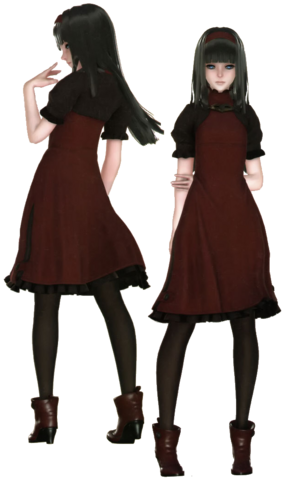 File:Red Girl Render nier automata.png