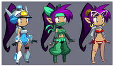 Shantae costumes