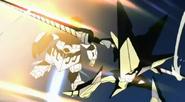 Space King Kittan attack