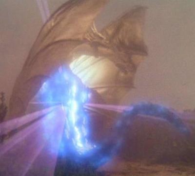 Godzilla nuclear pulse