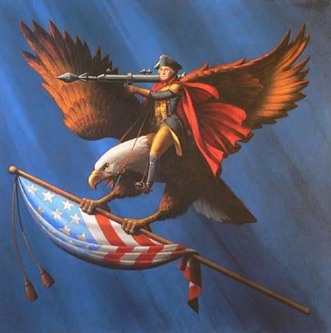 File:George washington, bald eagle, flying, missile launcher.jpg