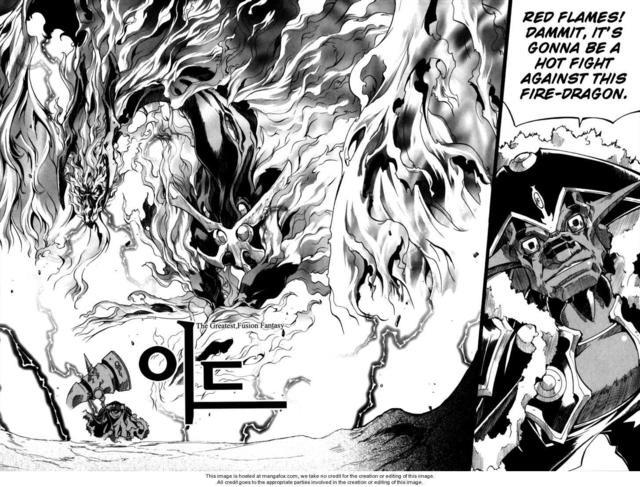 Selenia Dragon Form