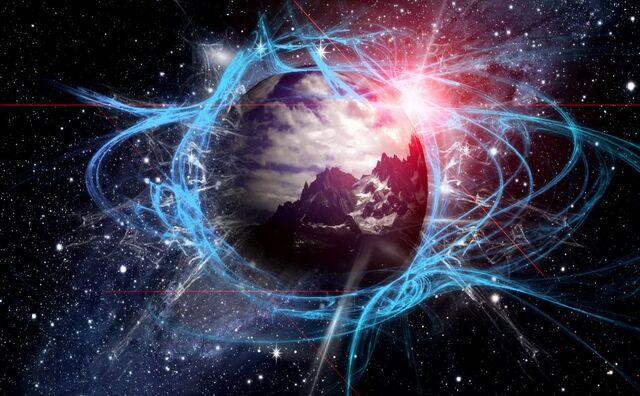 File:Mountain-planet-glow-galaxy.jpg