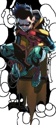 Damian Wayne Render - Super Sons