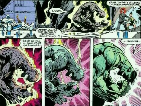 Hulk Regeneration