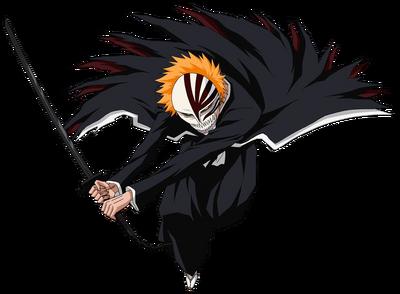 Ichigo kurasaki 1st hollow mask bankai by theoneaboveall77-d603i2w