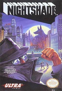 Nightshade (NES) Coverart