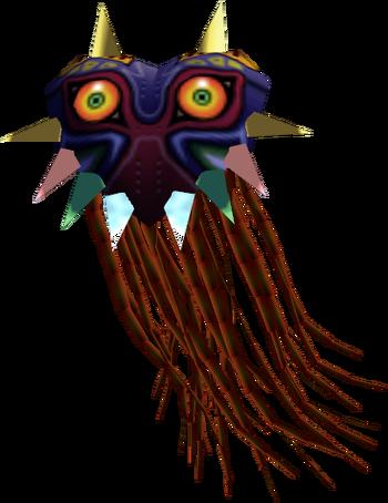 Majora's Mask (boss) render
