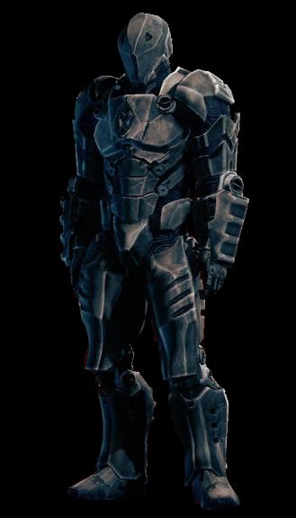 Iron saint armor