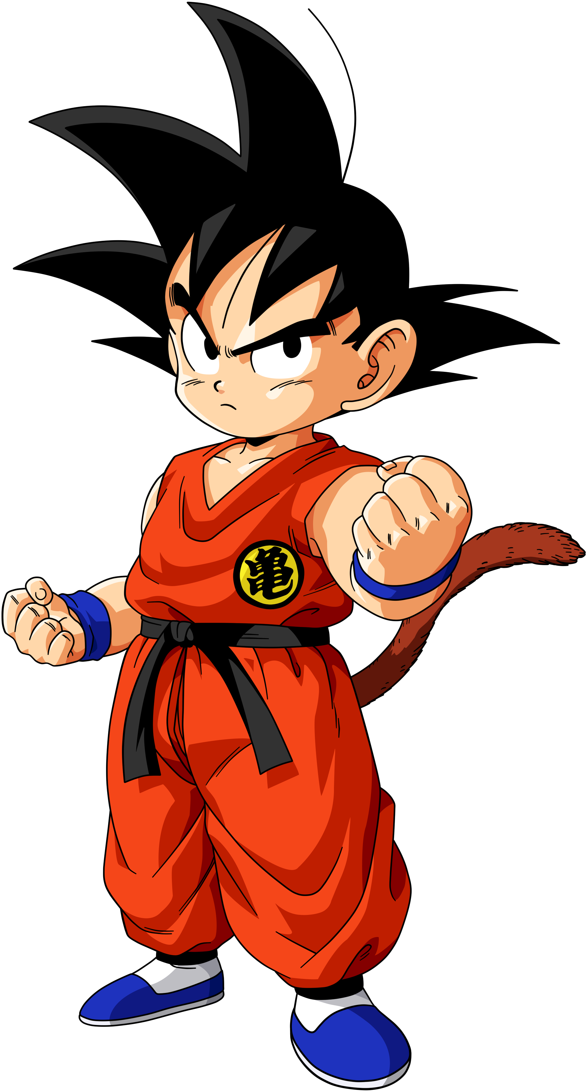 Dragon Ball Z Cartoon Characters Names : Son goku teenager vs battles wiki fandom powered by