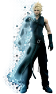 Final Fantasy Advent Children-Cloud