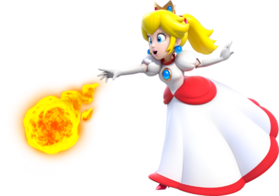 800px-Fire Princess Peach Artwork - Super Mario 3D World