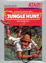 Atari 2600 Jungle Hunt box art