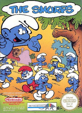 File:Smurfs NES cover.jpg