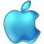 File:Apple Blue 64px.png