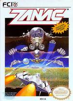 Zanac NES cover