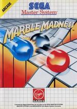 Marble Madness SMS box art