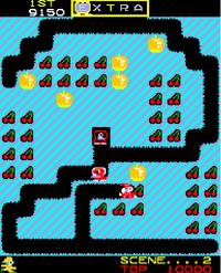 Mr Do arcade screenshot