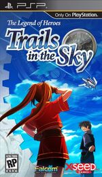 THE LEGEND OF HEROES TRAILS IN THE SKY PSP