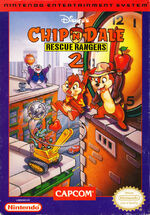 Chip n Dale Rescue Rangers 2 NES cover