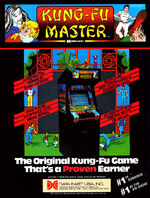 Kung Fu Master arcade flyer