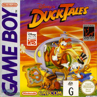 Duck tales 1 gameboy