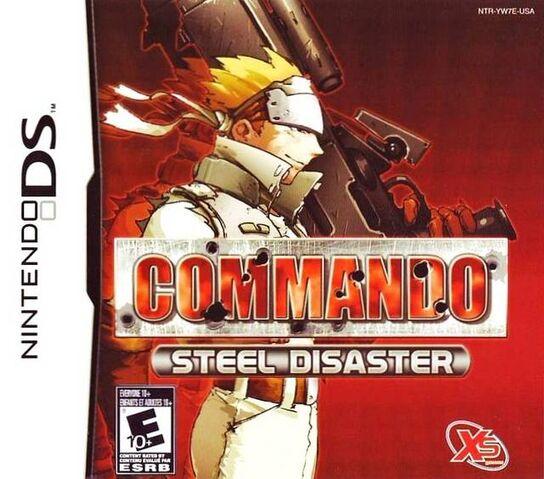 File:Commando Steel Disaster DS Cover.jpg